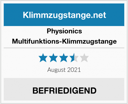 Physionics Multifunktions-Klimmzugstange Test