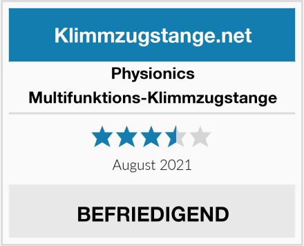 Physionics Multifunktions-Klimmzugstange Test