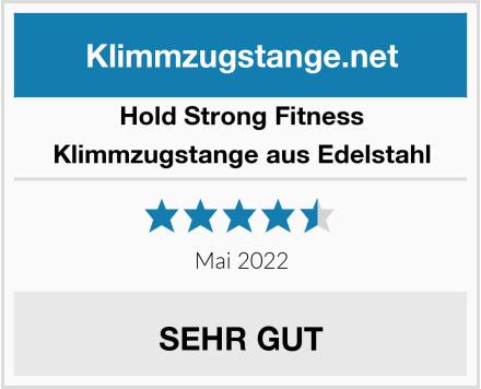 Hold Strong Fitness Klimmzugstange aus Edelstahl Test