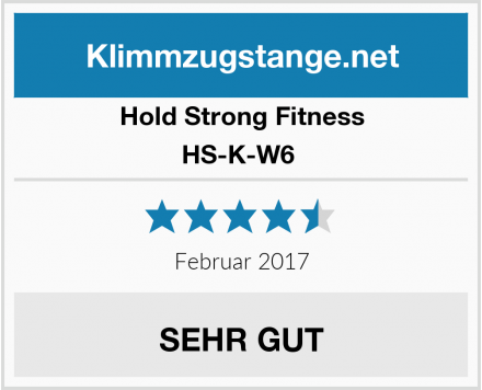 Hold Strong Fitness HS-K-W6  Test