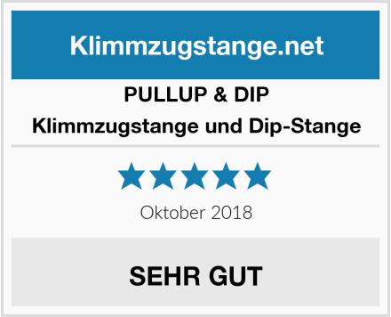 PULLUP & DIP Klimmzugstange und Dip-Stange Test