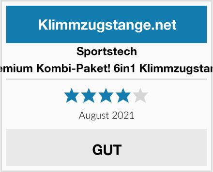 Sportstech Premium Kombi-Paket! 6in1 Klimmzugstange Test