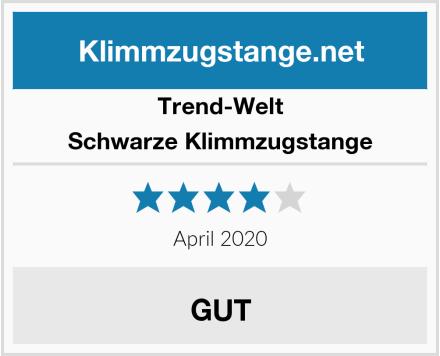 Trend-Welt Schwarze Klimmzugstange Test