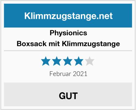 Physionics Boxsack mit Klimmzugstange Test