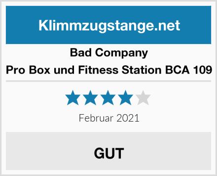 Bad Company Pro Box und Fitness Station BCA 109 Test