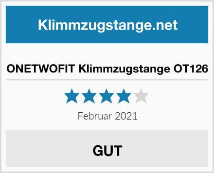 ONETWOFIT Klimmzugstange OT126 Test