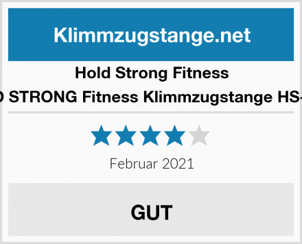 Hold Strong Fitness HOLD STRONG Fitness Klimmzugstange HS-K-D6 Test