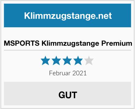 MSPORTS Klimmzugstange Premium Test