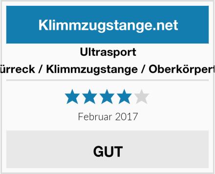 Ultrasport 4in1 Türreck / Klimmzugstange / Oberkörpertrainer Test