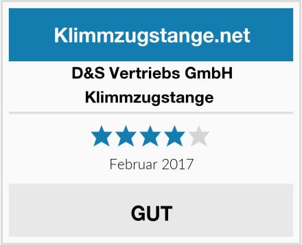 D&S Vertriebs GmbH Klimmzugstange  Test
