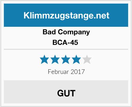 Bad Company BCA-45  Test