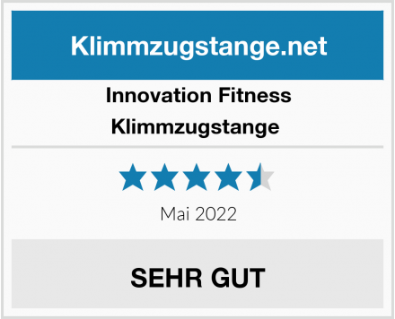 Innovation Fitness Klimmzugstange  Test
