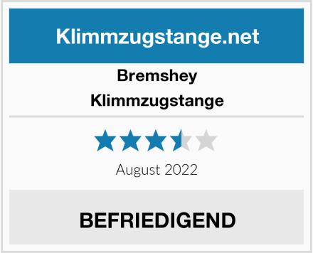 Bremshey Klimmzugstange Test