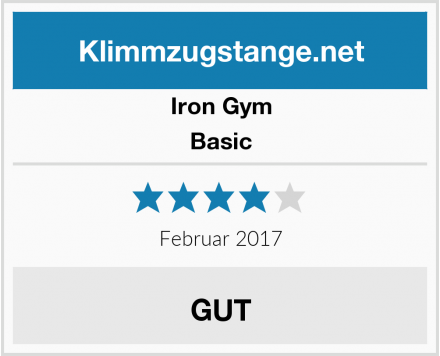Iron Gym Basic Test