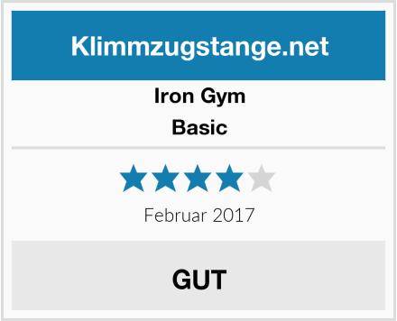Iron Gym Basic Test