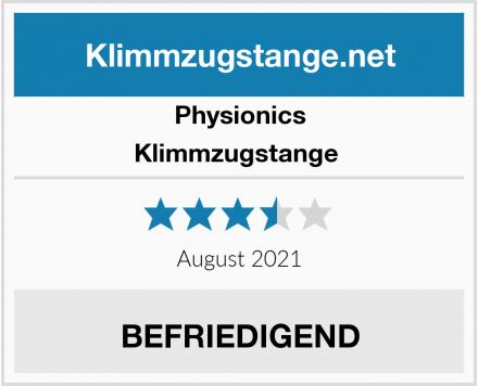 Physionics Klimmzugstange  Test