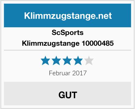 ScSports Klimmzugstange 10000485 Test
