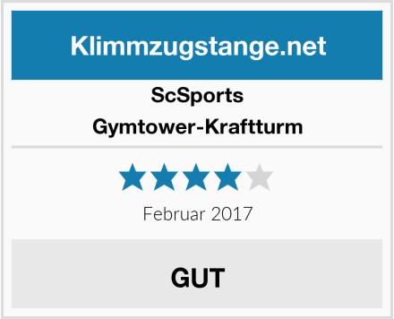 ScSports Gymtower-Kraftturm Test