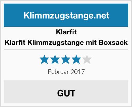 Klarfit Klarfit Klimmzugstange mit Boxsack Test