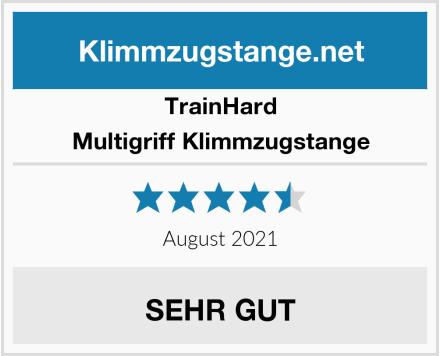 TrainHard Multigriff Klimmzugstange Test