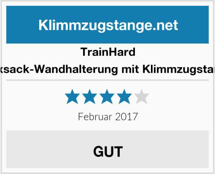 TrainHard Boxsack-Wandhalterung mit Klimmzugstange Test