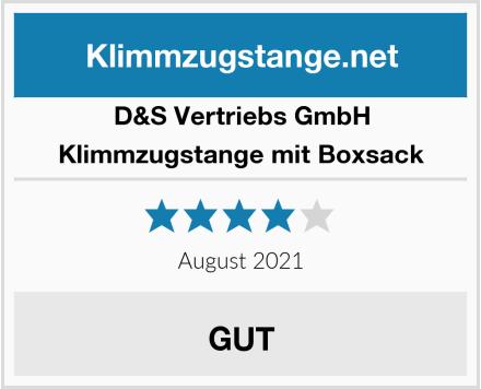 D&S Vertriebs GmbH Klimmzugstange mit Boxsack Test