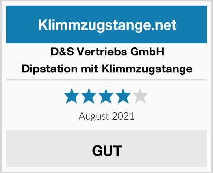 D&S Vertriebs GmbH Dipstation mit Klimmzugstange Test