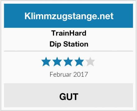 TrainHard Dip Station Test