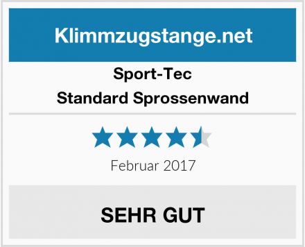 Sport-Tec Standard Sprossenwand Test