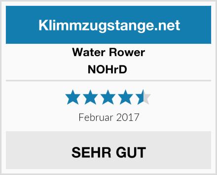 Water Rower NOHrD  Test