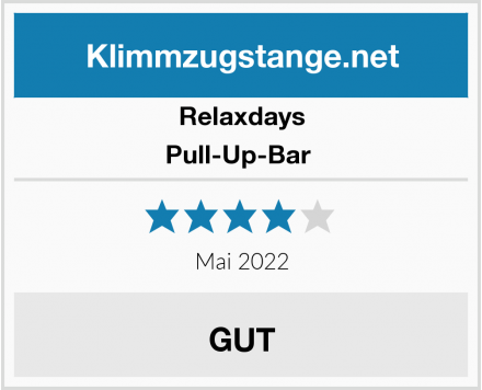 Relaxdays Pull-Up-Bar  Test