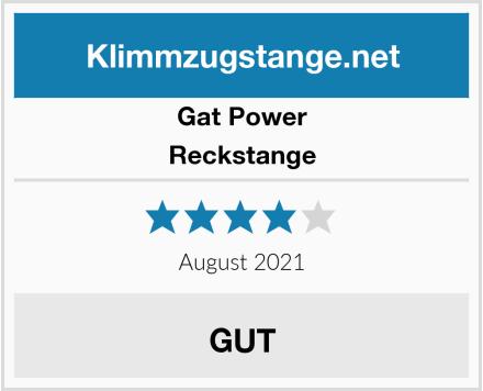Gat Power Reckstange Test