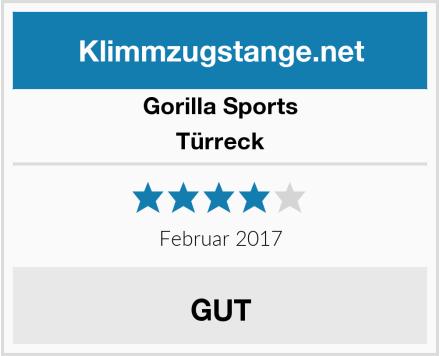 Gorilla Sports Türreck Test