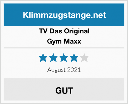 TV Das Original Gym Maxx Test